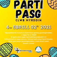 Parti Pasg Clwb Myrddin